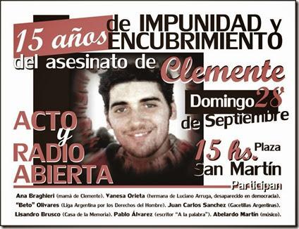 28 - 09 - 14 - Afiche Acto Clemente Arona