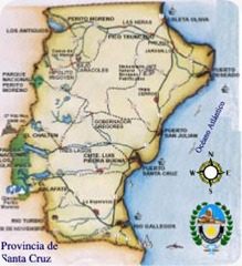 santa cruz mapa