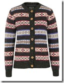 Navy and Rose Fair Isle Howlin' by Morrison Cardigan