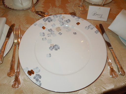I loved my Water Blossom place setting.