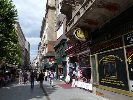 Cumparaturi Ungaria: Vaci Utca, strada pietonala din Budapesta