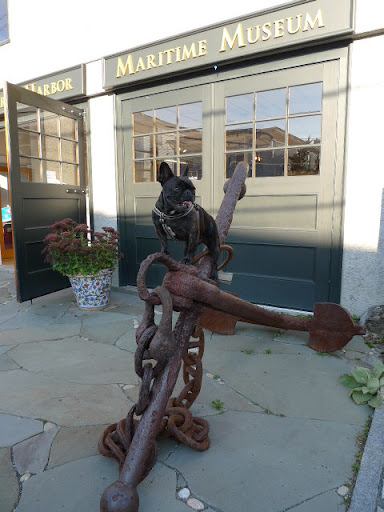 Bar Harbor is also home to the Great Harbor Maritime Museum.  This building used to be a fire station but now displays a variety of historical items, like this giant anchor.