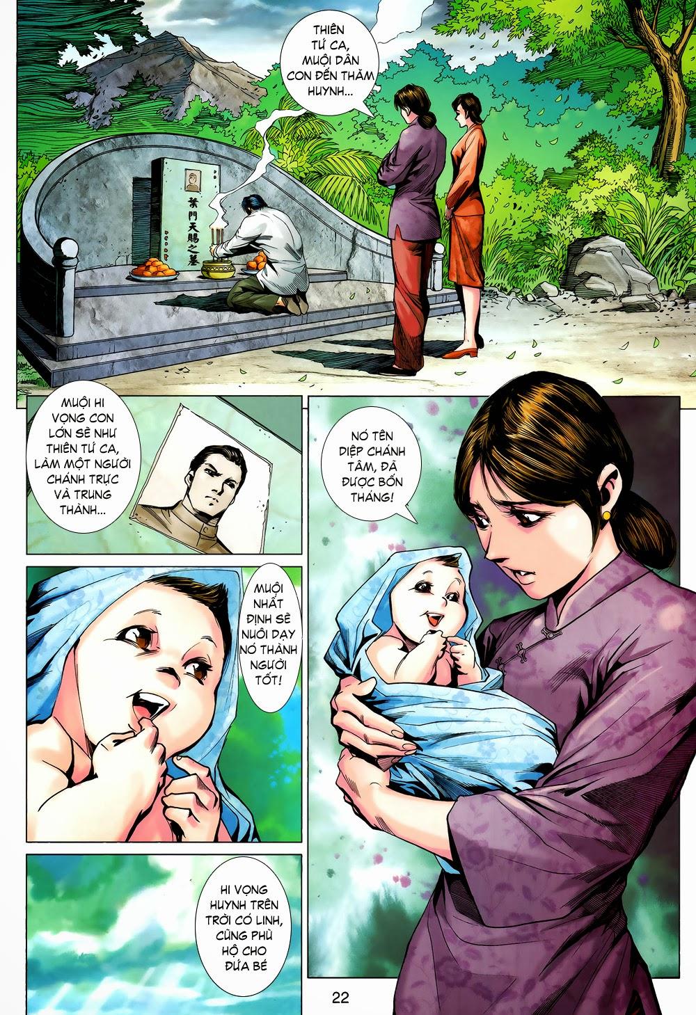 Diệp Vấn Tiền Truyện chap 20 - Trang 20