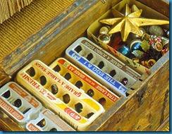 caixas de ovos