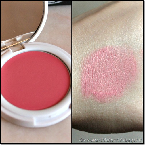 topshop blush in flush swatch