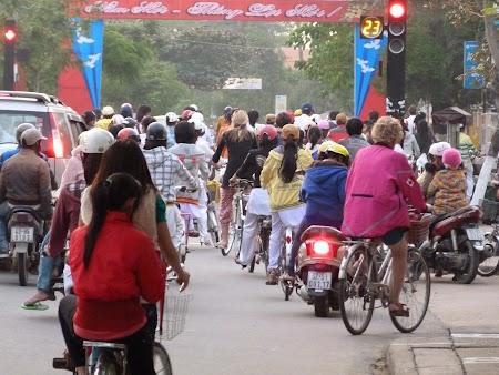 Trafic in Vietnam
