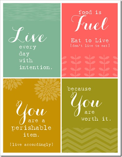 Health Encouragement Cards