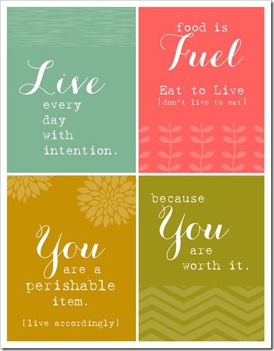 Health Encouragement Cards
