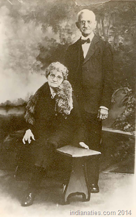Mary Anna Keen Weber and her husband, Harry Adam Weber.