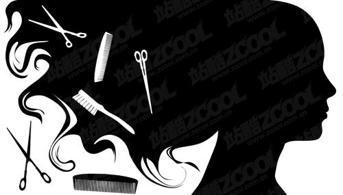Beauty Salon Scissors Clip Art