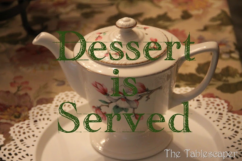 Dessert - The Tablescaper21 cover