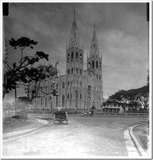 San Sebastian Church, Manila c1900s