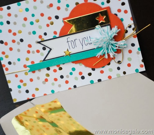 Stampin'Up Good as Gold close up
