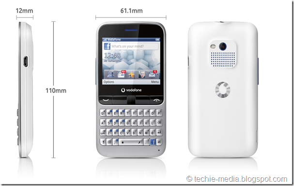 Vodafone Facebook Phone
