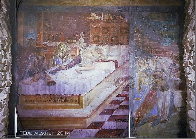 """Affresco """"Il miracolo dei Santi Cosma e Damiano"""", Chiesa di San Paolo, Ferrara"""