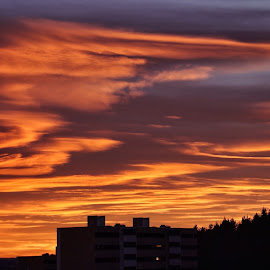 by Jose Figueiredo - Landscapes Cloud Formations ( clouds, winter, sunset, norway )