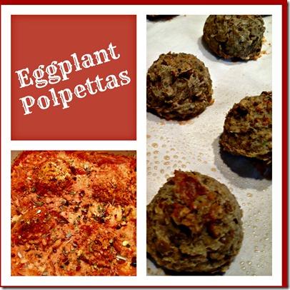 eggplant polpetta