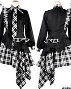 Animania Gothic Punk Wear Monotone Set