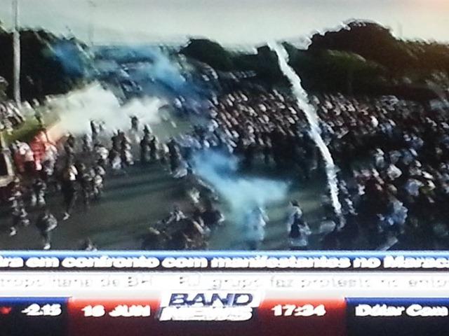 Manifestação Violencida da Policia 7