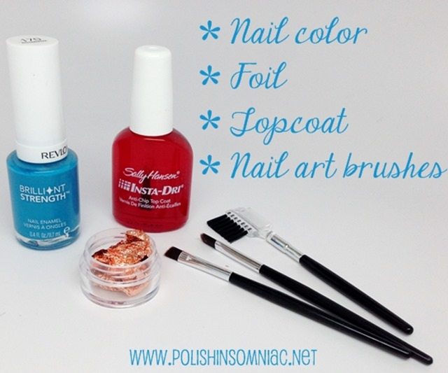 What you will need to create Summer Inspired Rose Gold Nail Art #walgreensbeauty #shop #nailart