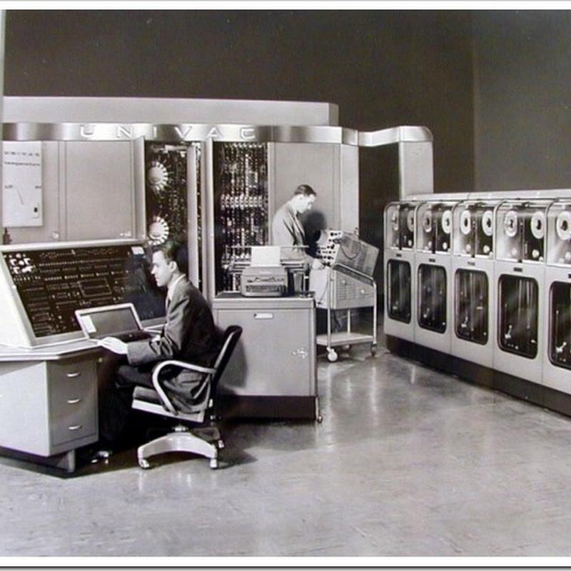 10 colossais computadores antigos que mudaram a história