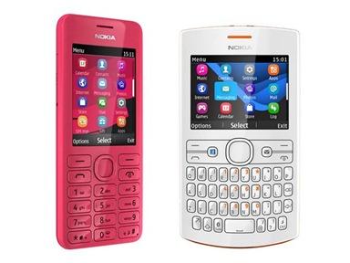 Adapun spesifikasi dari Nokia Asha 205 dan 206 adalah sebagai berikut.
