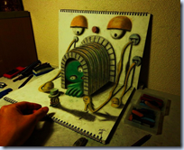 3D Illusion Sketchbook
