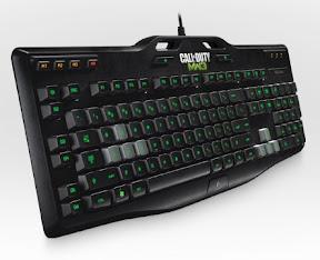 Logitech Gaming Keyboard G105 for Call of Duty: Modern Warfare 3