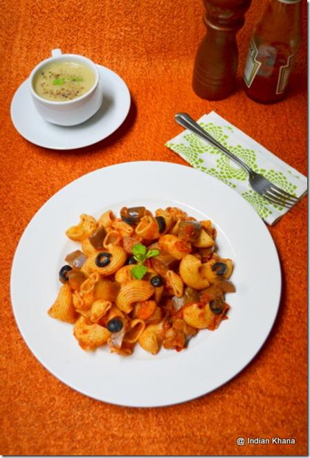 Easy pomodoro eggplant pasta recipe