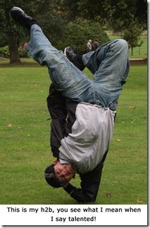 h2b upside down