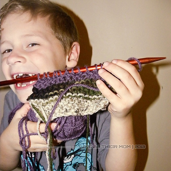 my son knits - life as their mom