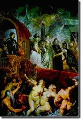 Rubens - O desembarque em Marselha