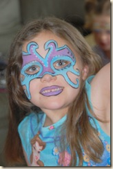 wrestler face paint