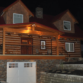 Our Show Home at Night