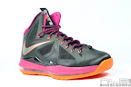 lebron10 floridians 04 web white The Showcase: Nike LeBron X Miami Floridians Throwback