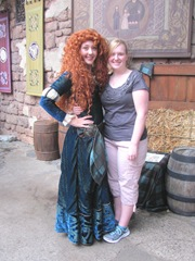 Disney trip merida and katie