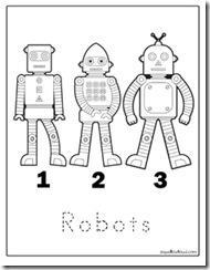 Robotcoloringpage