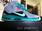 nike lebron 9 ps elite grey candy pink 5 01 LeBron 9 P.S. Elite Miami Vice Official Images & Release Date