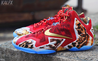 nike lebron 11 gr 2k14 8 02 James Wears Nike LeBron 11 2K14 to Celebrate Miamis Win