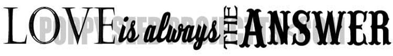 Love is Always - with Copy Right Logo