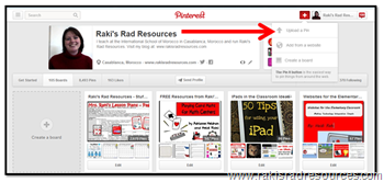 Guest blog post from Heidi Raki at www.rakisradresources.com. She writes today about how to use Pinterest as a digital filing cabinet.