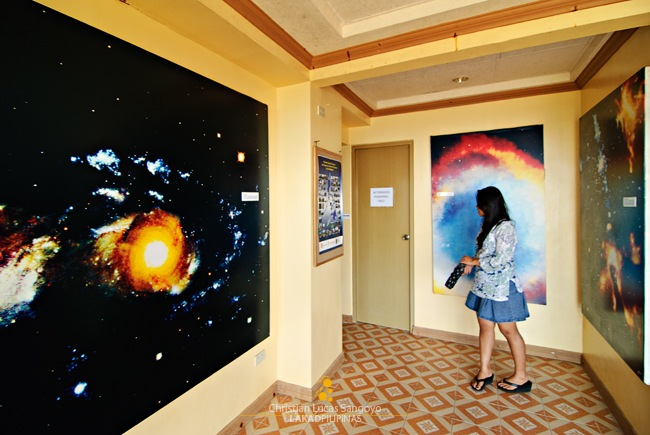 Inside the Planetarium Lobby