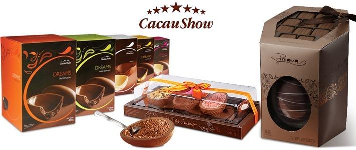ovos de pascoa cacau show 2013