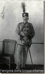 Essad Pascià Toptani, ministro della guerra e degli interni agli inizi del regno del Wied