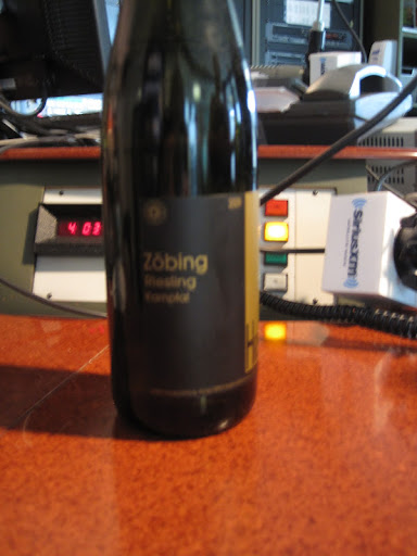 Hirsch Riesling, Zobing from Kamptal, Germany.
