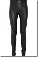 Acne leather skinny pants £930