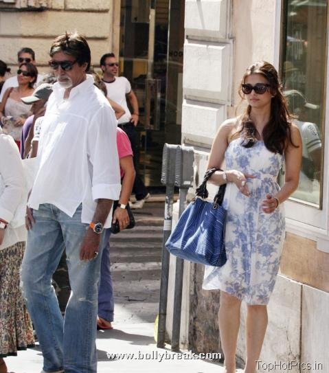 Aishwarya Rai Hot Pics at Vacation 5