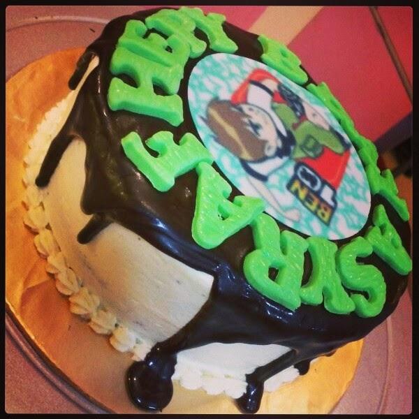 Just Lildaisy ( Ampang ): Edible Image Cake