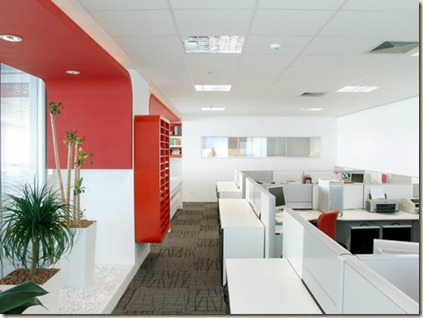 Decoraci n de oficinas modernas decoraci n de interiores for Decoracion de interiores oficinas