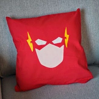 The Flash Cushion Cover from Citadel Traders on Etsy